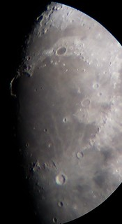 Moon Feb 9th, close on Mare Imbrium