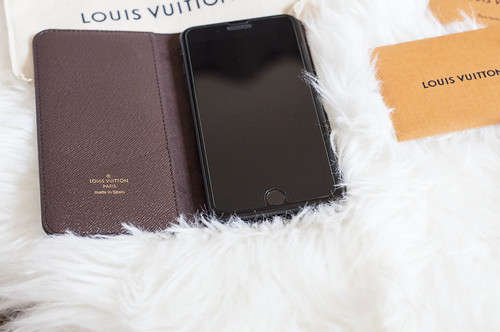 finest selection ac49a 5abcf Review: Louis Vuitton Iphone 7 plus folio case – Mrs Obe-wan