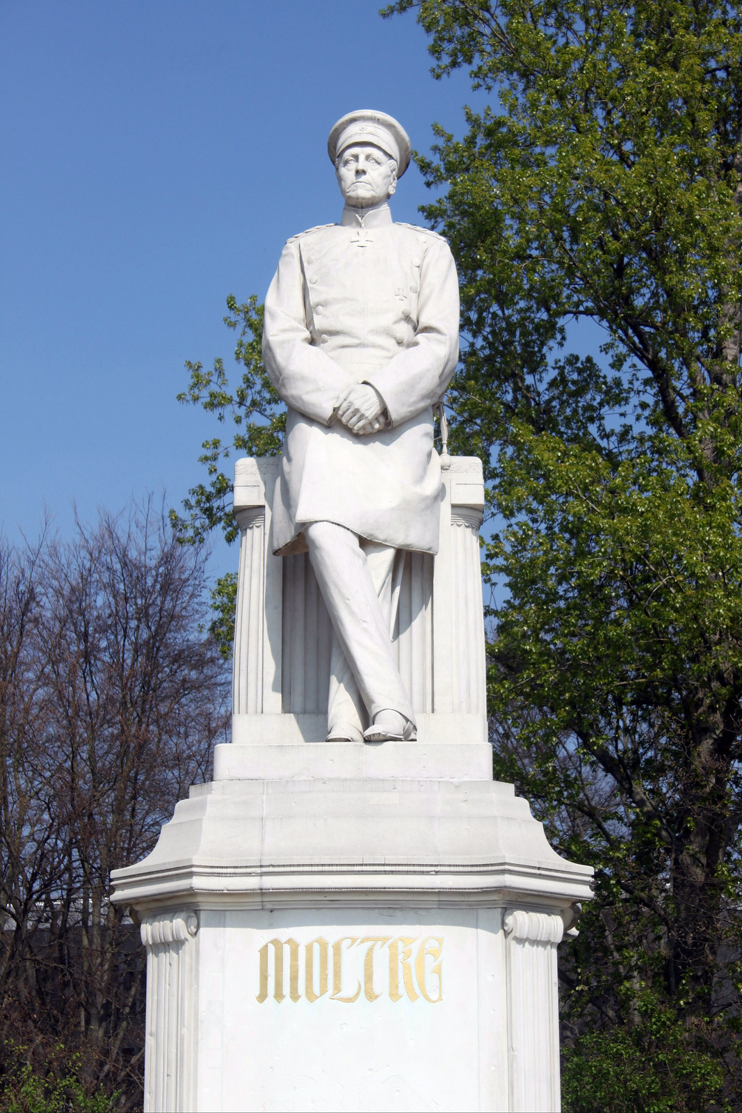Das Moltke-Denkmal im Berliner Tiergarten