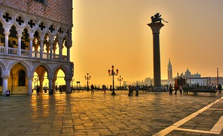 Early Morning at the Piazzetta di San Marco, Venice