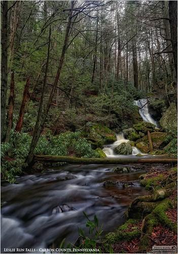 tomwildoner leslie run water waterfalls nature environment trees moss rocks outdoors hiking biking lehighgorgestatepark carboncounty pennsylvania canon canon6d flowing flow rain rainfall spring