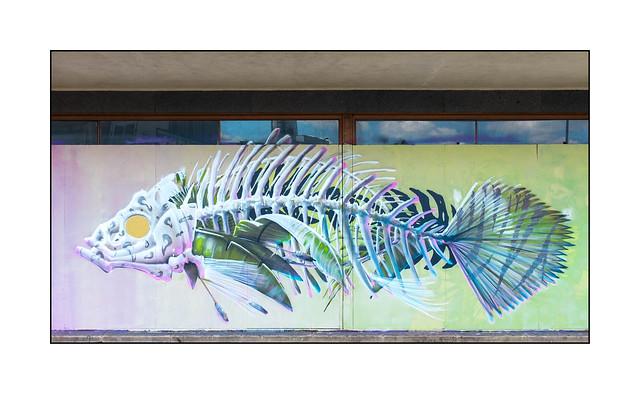 Street Art (Samer), South London, England.