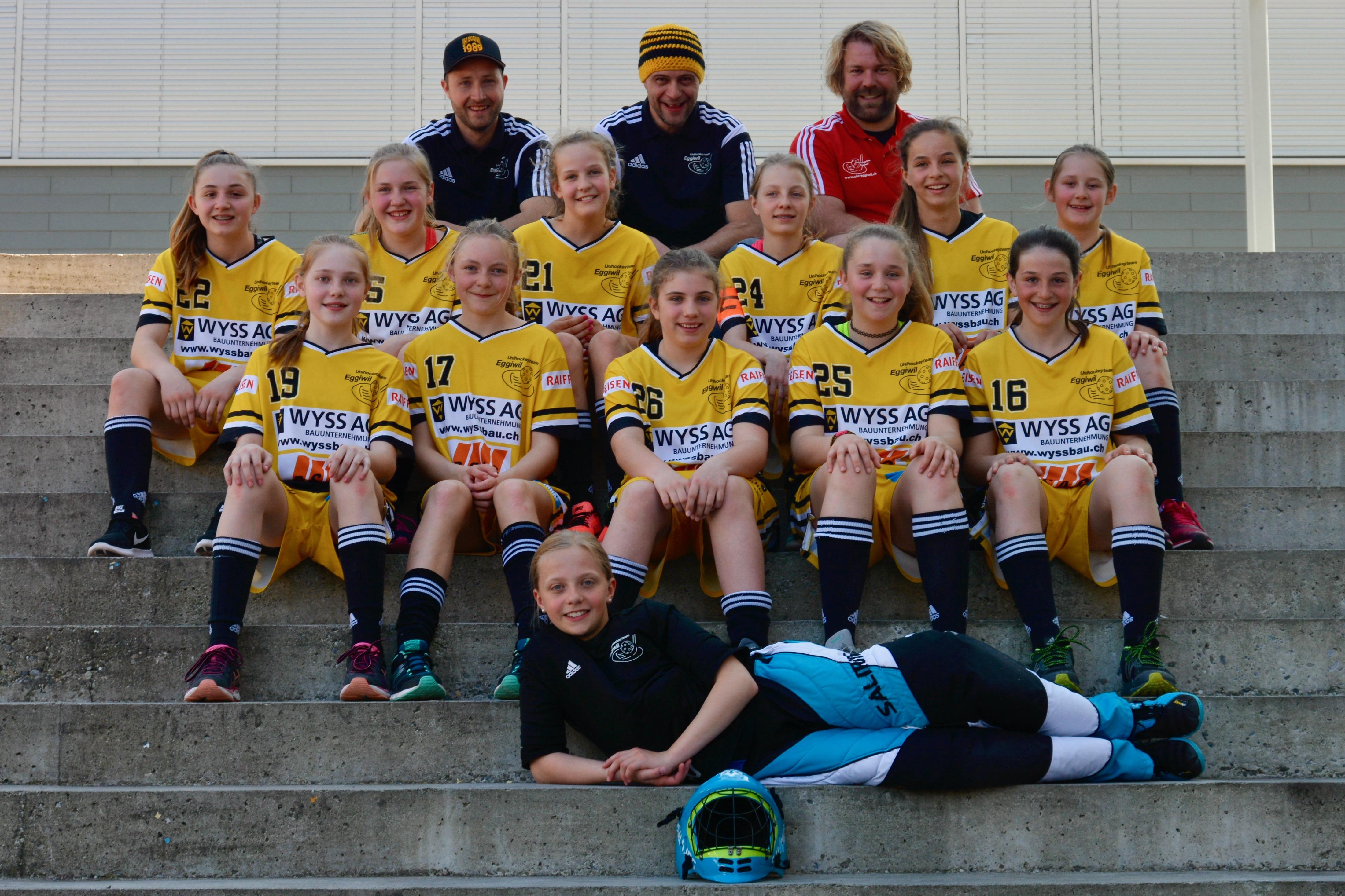 Juniorinnen C - Schweizermeisterschaft in Oberdorf/BL Saison 2016/17
