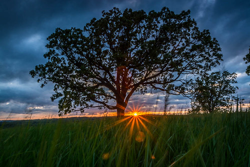sunset sky wisconsin clouds landscape unitedstates waukesha waukeshacounty glacierconepark