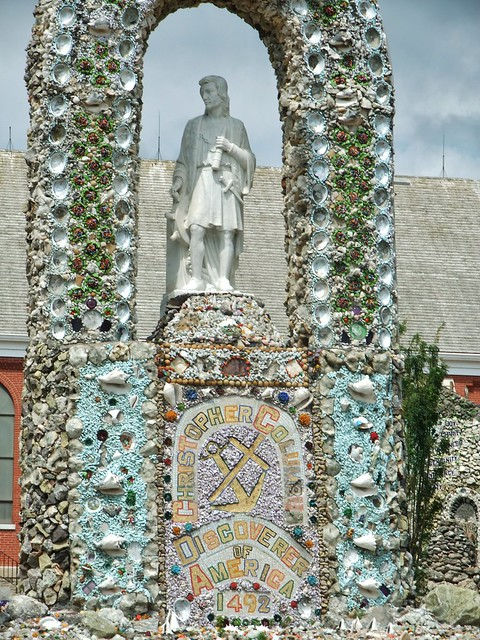 Dickeyville Grotto at Holy Ghost Catholic Church, Dickeyville, WI