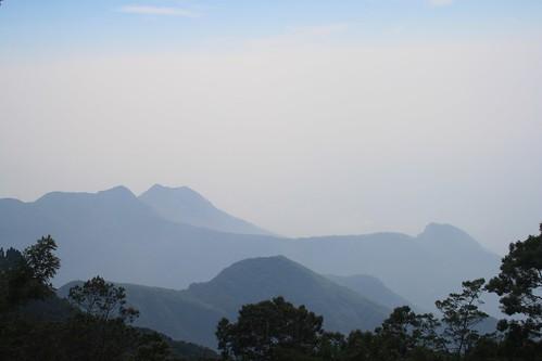 india mist mountain landscape tamilnadu dindigul ind