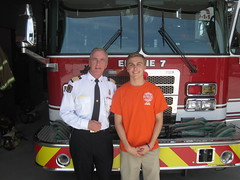 Cameron_Tevelde_with_Fire_Chief_Bruce_Montone