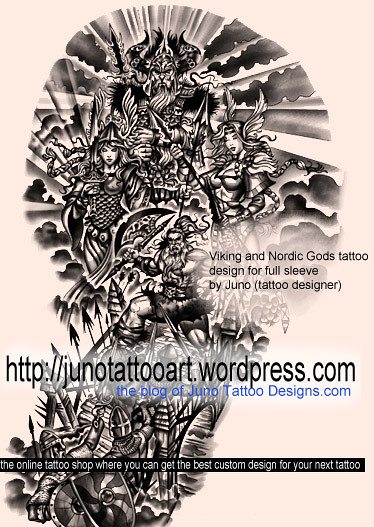 Berseker Norse Mythology Tattoo By Juno Juno Tattoo Designs Flickr