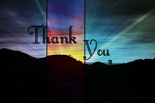 Thank you... | by Art4TheGlryOfGod by Sharon