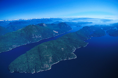 Ha'thayim (Von Donop) Marine Provincial Park, Cortes Island, British Columbia, Canada