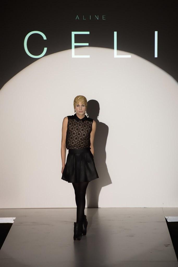 Show der Designerin Aline Celi