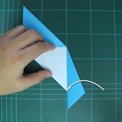การพับกระดาษเป็นรูปตัวเม่นแคระ (Origami Hedgehog) 010