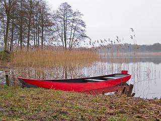 Het rode bootje