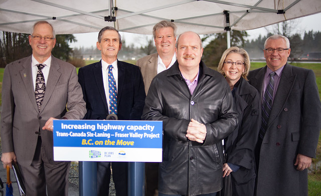 BC commits $113 million to Trans-Canada Highway Six-Laning, Langley to Aldergrove