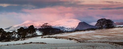 aberdeenshire insch scotland taponoth alba dawn garioch pink sunrise unitedkingdom