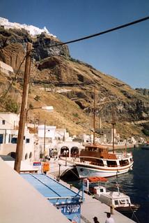Santorini Harbor