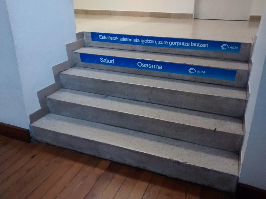 Campaña No Tomes Atajos Mejor Escaleras Arriba Y Abajo Flickr