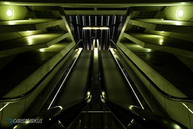 Alien Escalator