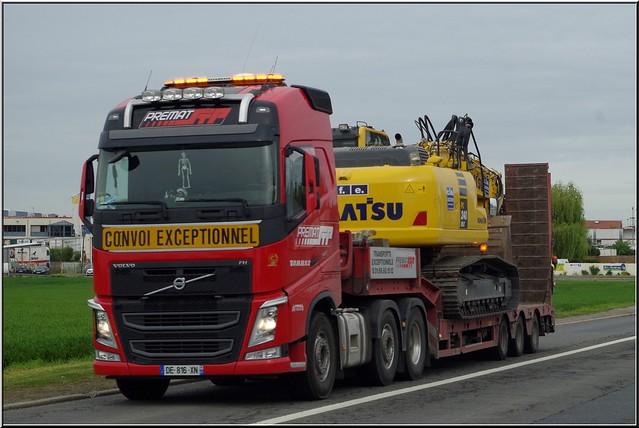 Volvo_FH4 540 Globetrotter 6x4, Transports Prémat, Le-Plessis-Pâté (F-91)