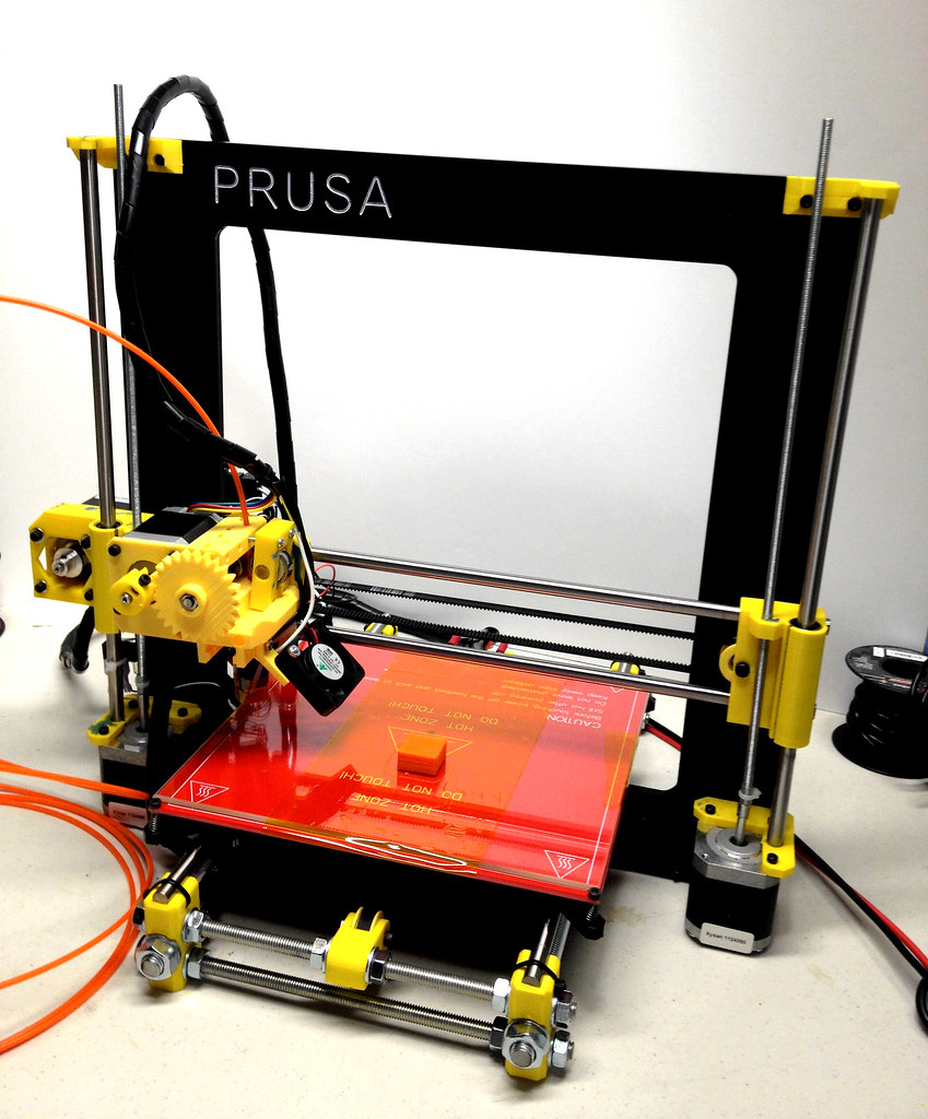 Prusa i3 3D Printer - Reprap - Completed