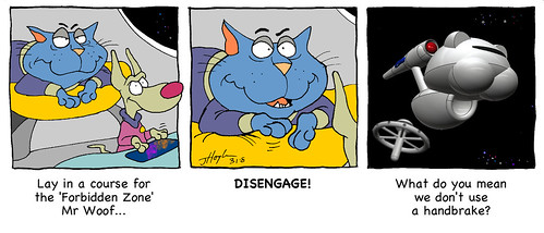 Catnip is disengaged | by Catnip Cat by Jeff Hoyle