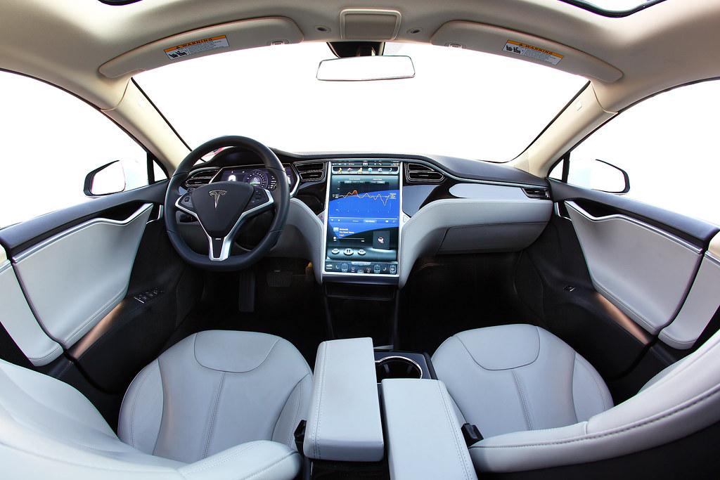 Tesla Model S Interior >> Tesla Model S Interior Fisheye I Took This Interior Fishey