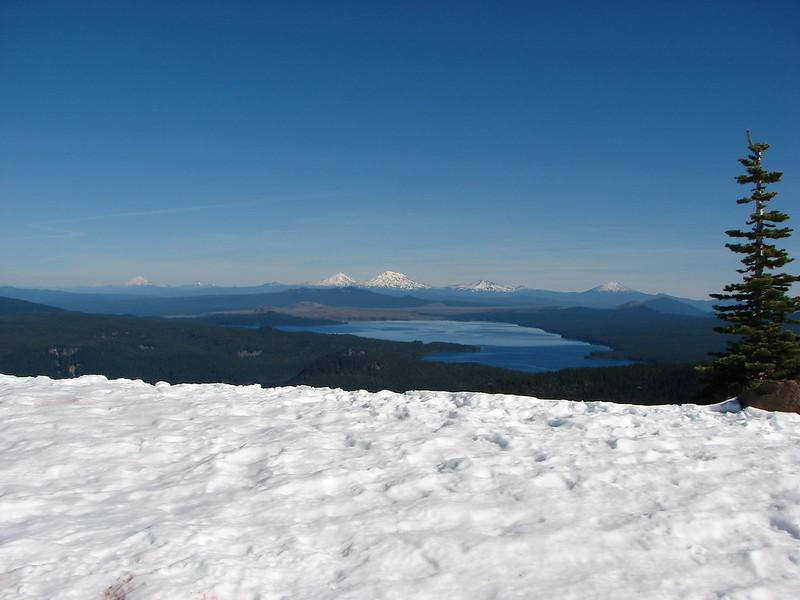 View from Fuji Mountain