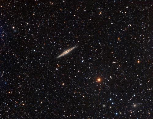 NGC891 RGB   by Andysea1