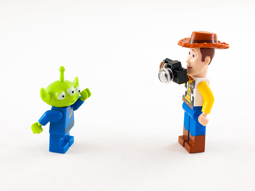 Lego Alien and Woody | by wwarby