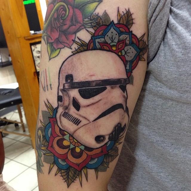Stormtrooper Starwars Tattoo Mandala Flower Fun Flickr