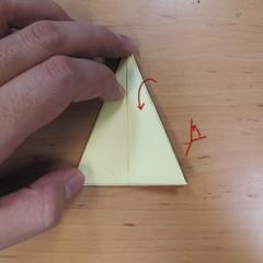 วิธีพับกระดาษเป็นดอกกุหลายแบบเกลียว 018