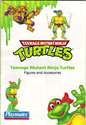 TEENAGE MUTANT NINJA TURTLES :: Collector's Guide iv (( 1993 )) by tOkKa