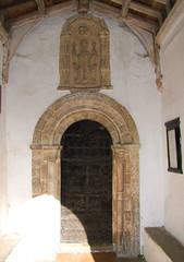south door
