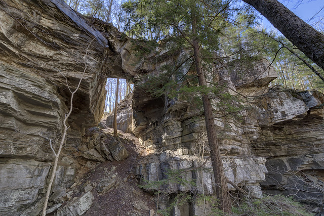 Medley Arch, Fall Creek Falls State Park, Van Buren County, Tennessee 1