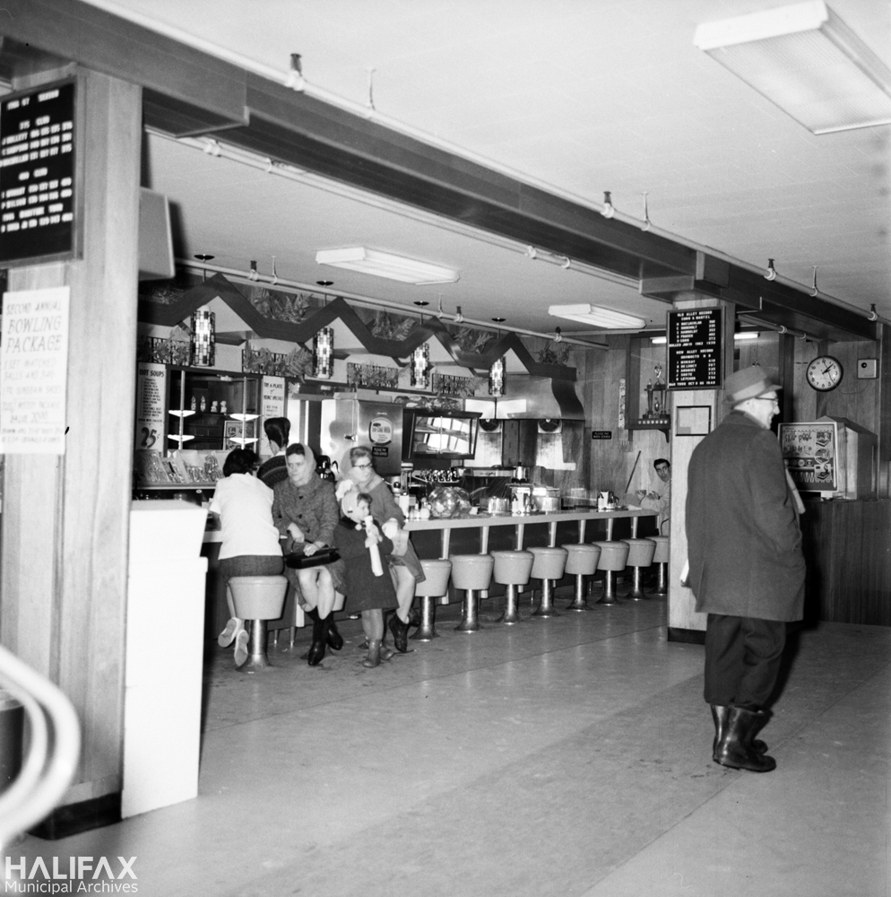Conn and Martel lunch counter, demolished to make way for Scotia Squre