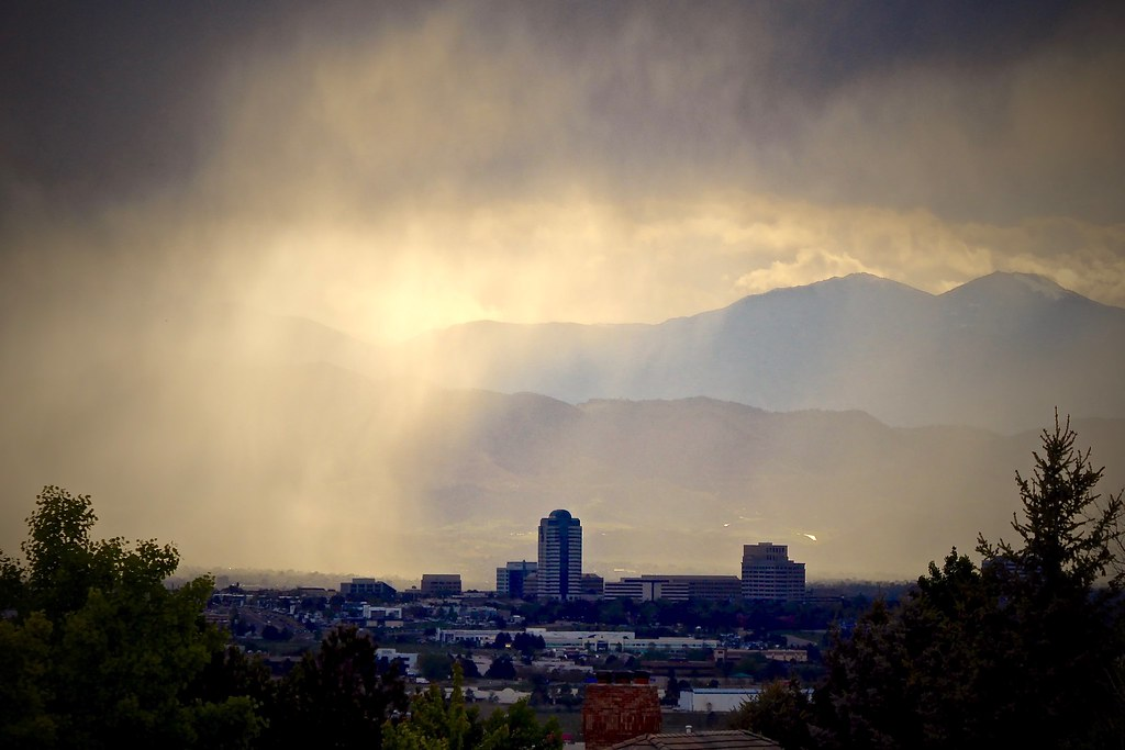 Severe Weather Awareness: Denver Spring Storm | This photo i