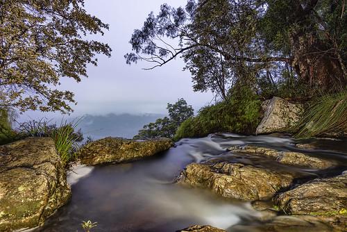 queensland australia night longexposure lightpainting water creeks purlingbrookfalls waterfalls clouds nikond800 earlymorning travel nikon