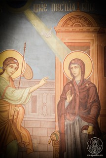 Литургия в Софийском соборе 110