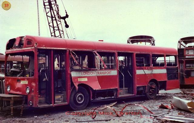 1972 AEC Swift SMS798 JGF798K Wombwell Diesels age 7½