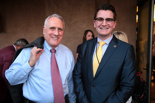 Jon Kyl with attendee | by Gage Skidmore