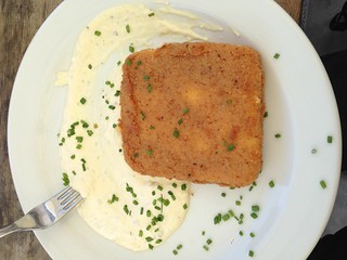 Fried Cheese with Tartar Sauce | by awaradiaries