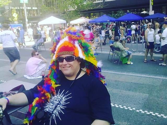 Cincinnati ohio lgbt gay pride fountain square downtown 2011