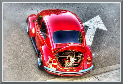 red vw project bug volkswagen slug 1000 worldcars