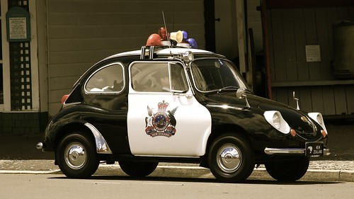 Subaru 360 Police