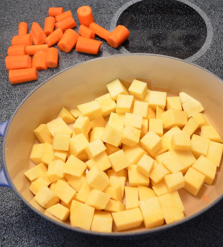 Rutabaga & Carrots