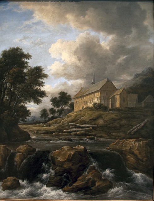 Church by a Torrent, c. 1670