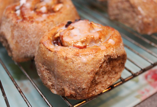 Apple and Sultana Iced Buns | by Coffee Muffins