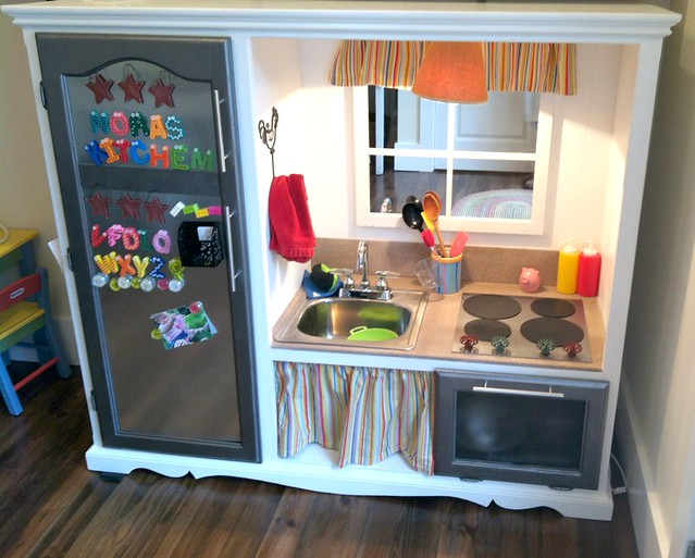 renovated kids play kitchen