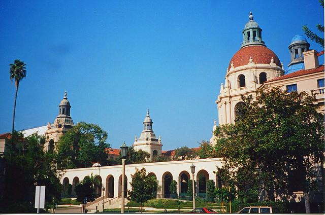 Pasadena California ~ Pasadena City Hall ~ Vintage 35mm Film