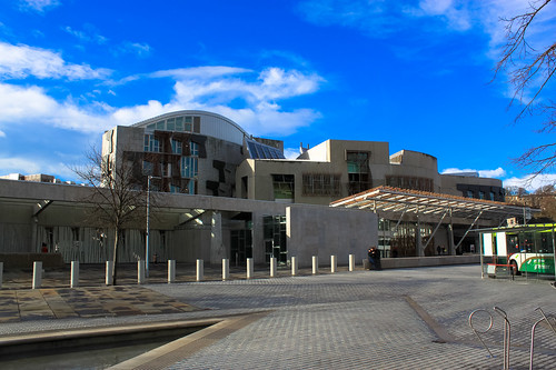 Scottish Parliament building | by Andy Hay